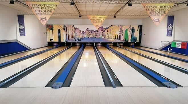 sala bowling Lucca