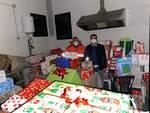 Scatole di Natale consegnate dalla Polisportiva Quattro Strade