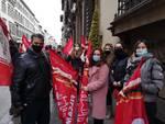 sciopero lavoratori eurospin a firenze 9 dicembre 2020