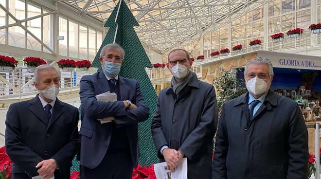 Stelle di Natale al policlinico Gemelli