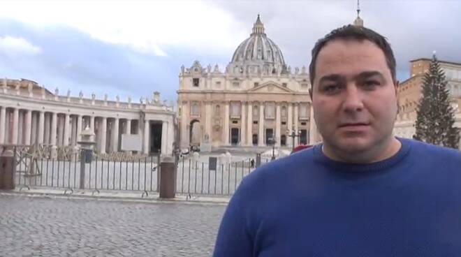 Terre di Presepi in piazza San Pietro