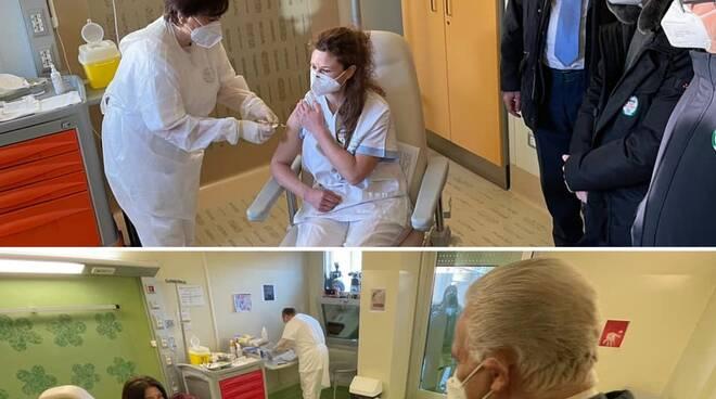 Vaccino covid a Firenze