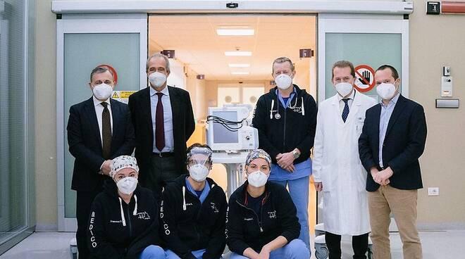 ventilatori polmonari a santa maria nuova