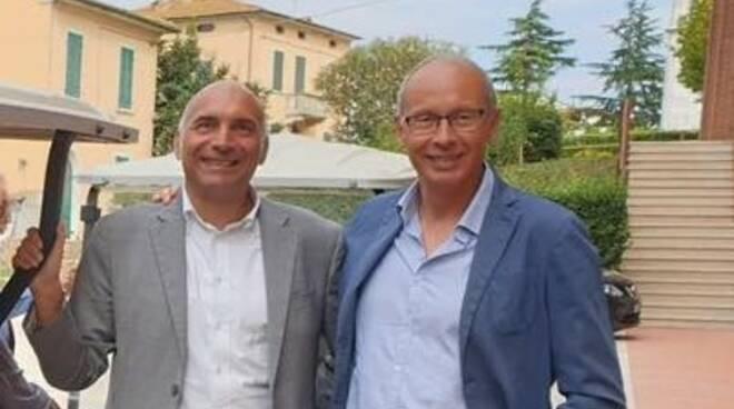 Andrea Pieroni e Gabriele Toti