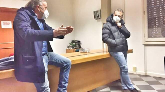 Andrea Tagliasacchi e Nicola Poli