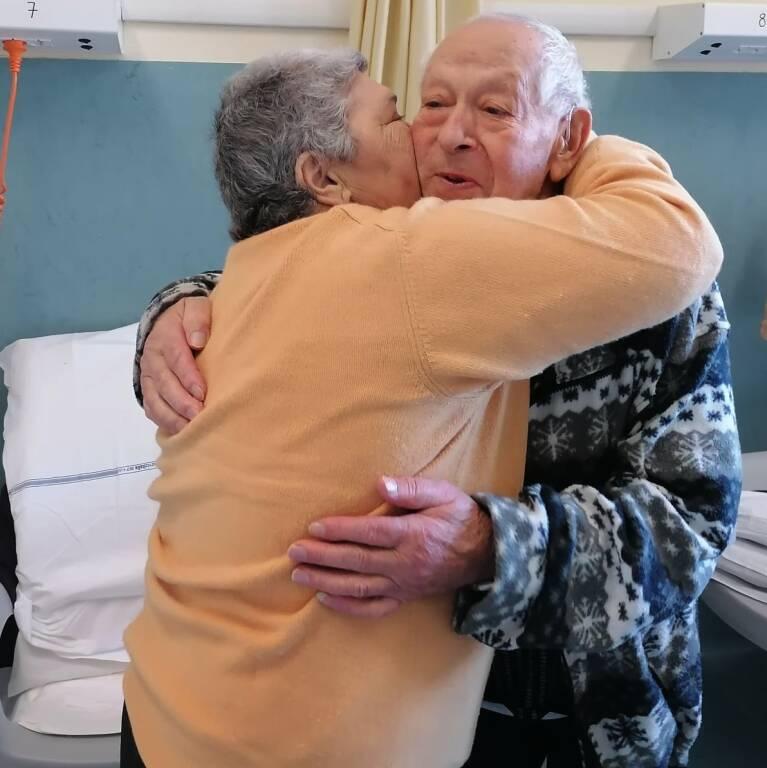 anniversario di matrimonio in ospedale a Pistoia