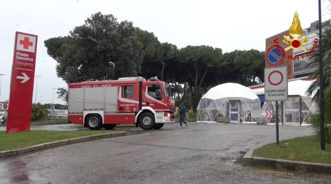 Befana dei vigili del fuoco al San Luca