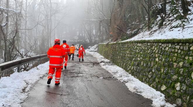 Croce Verde interventi emergenza neve