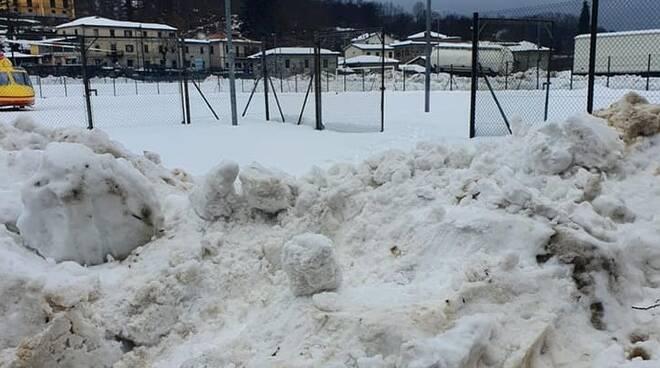 Elisoccorso campo sportivo Gramolazzo