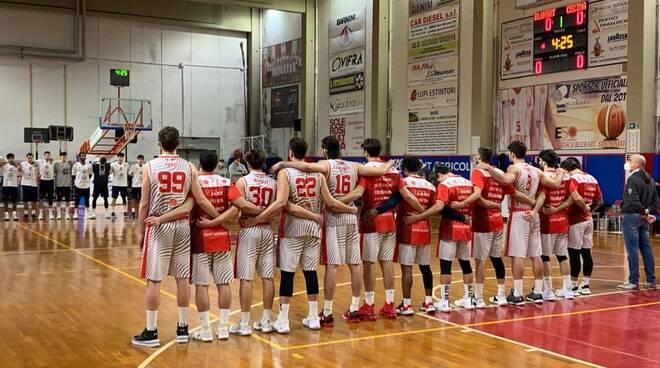 Etrusca San Miniato Basket Cecina gennaio 2020