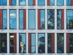 finestra vetro facciata