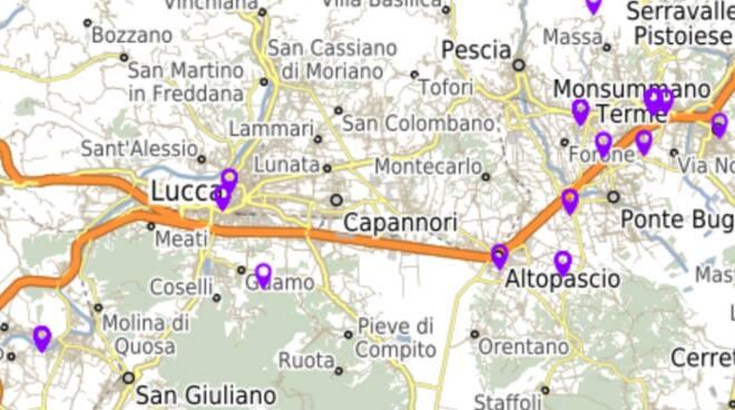 foto mappa geolocalizzazione confische mafia