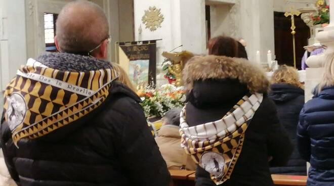 funerale Gabriele Manfredini a castelfranco di sotto il 16 gennaio 2021