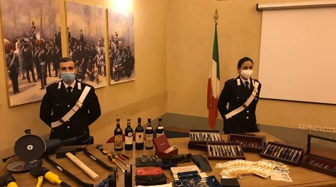 furti firenze fiesole carabinieri