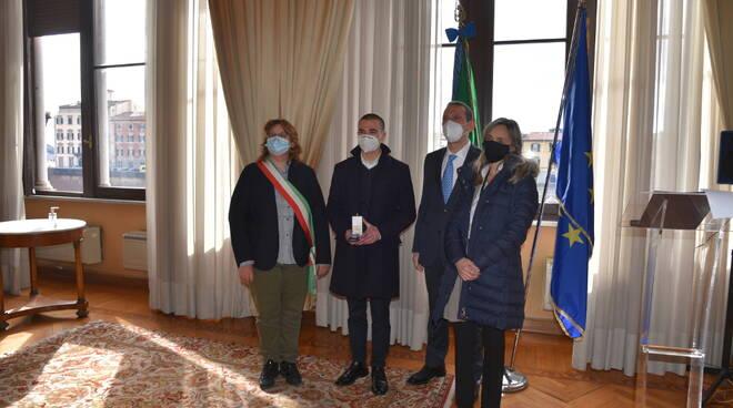 Giorno della Memoria, Ezechiele Chiodini, di Santa Maria a Monte premiato con la medaglia d'onore del prefetto