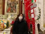 Giulia Deidda in chiesa