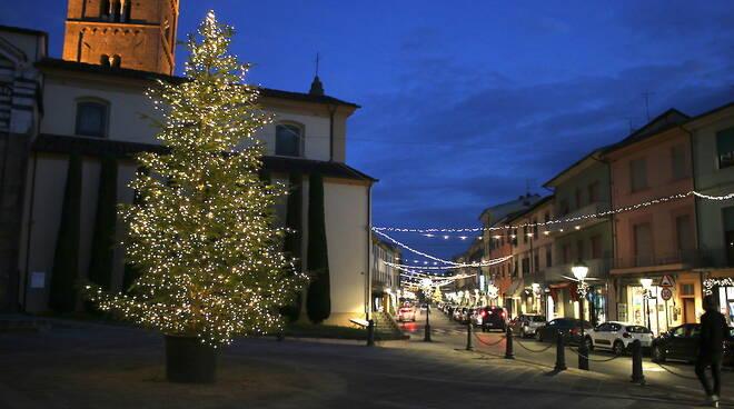 illuminazione natalizia Altopascio
