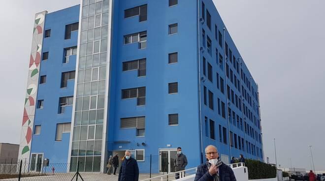 inaugurazione scuola palazzo blu pontedera 30 gennaio 2021