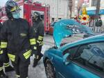incendio automobile cascina