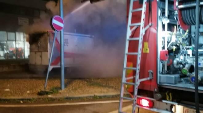 intervento vigili del fuoco Arezzo