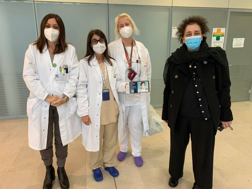 mascherine donate alla pediatria del san luca