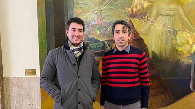 Mickey Condello e Alessio Giovarruscio