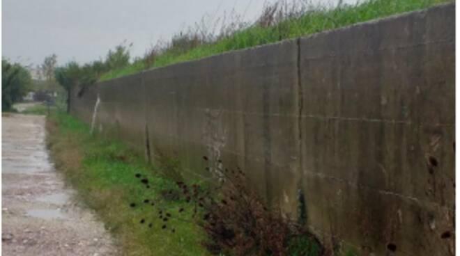 Muro ex discarica Le Conche Montopoli