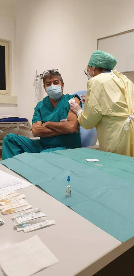 Murzi vaccinato contro il Covid