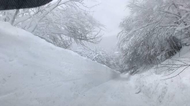 neve a castiglione garfagnana