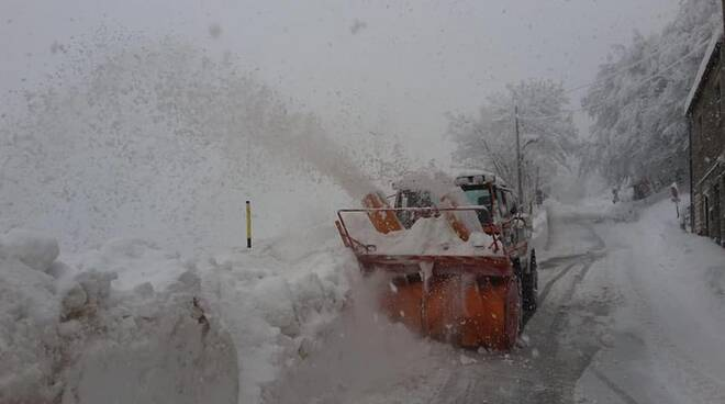 Neve alta Garfagnana gennaio 2020