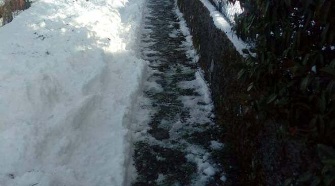 Neve strade Crasciana