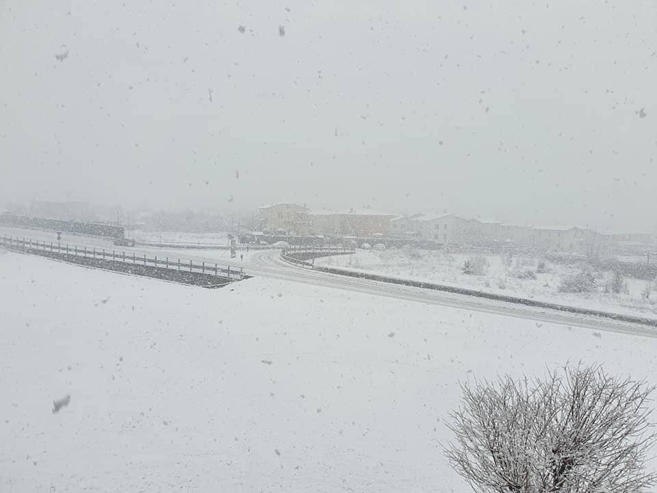 nevicata 6 gennaio 2021