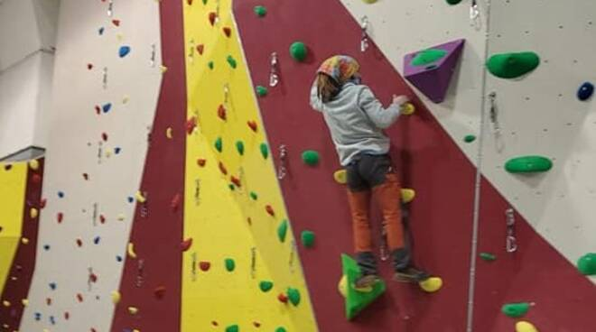 Parete da arrampicata