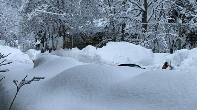 Passo delle Radici neve Sast 4 gennaio 2021