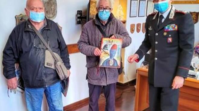 pensione ritrovata anziani carabinieri Carrara