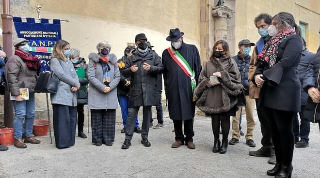 pietra d'inciampo Guglielmo Lippi Francesconi Maggiano
