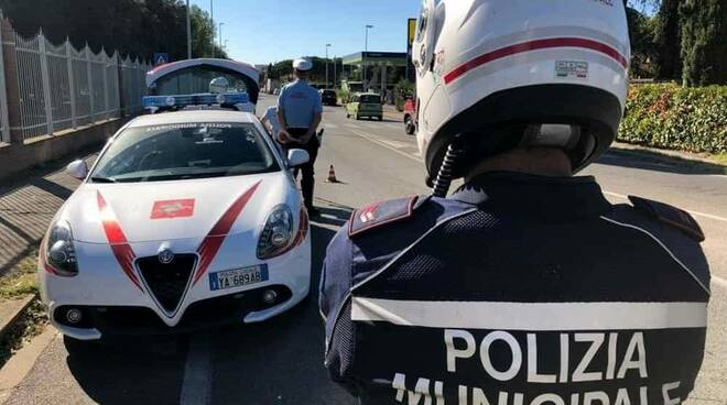 polizia municipale Altopascio intervento incidente