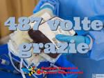 record donazioni sangue Fratres Montecarlo