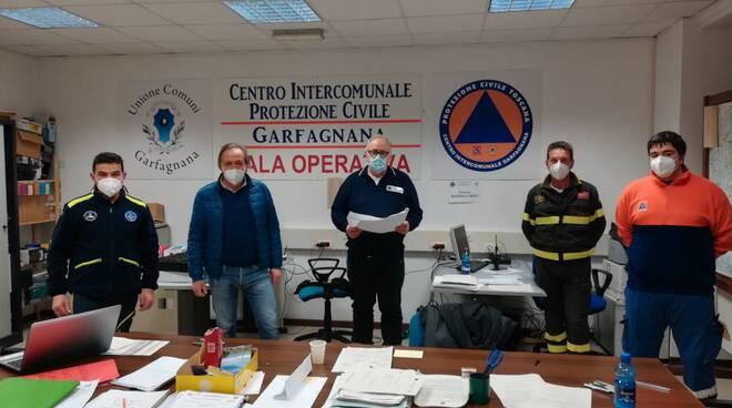 riunione Enel Castelnuovo protezione civile