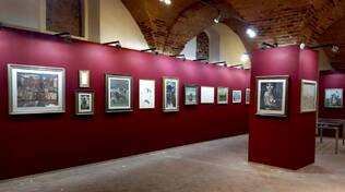 Sala Peregrinatio Altopascio mostra Fondazione Centoni