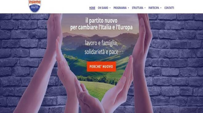 sito web partito Insieme