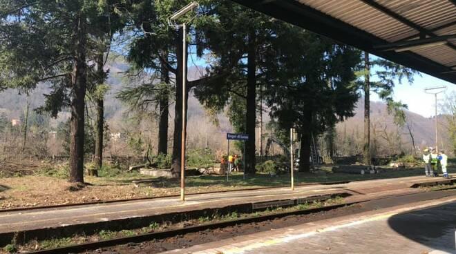 Stazione ferroviaria Bagni di Lucca