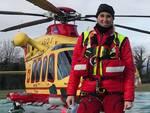 Stefania Scalici infermiera Aoup in servizio sull'elisoccorso pegaso