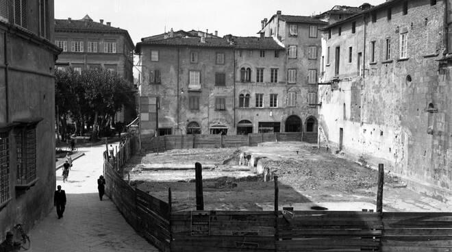 sventramento area piazza San Giusto urbanistica Lucca
