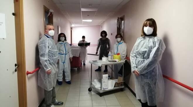 vaccino contro il coronavirus alla rsa le vele di Fucecchio