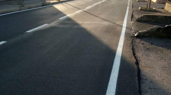 Via Romana Capannori asfaltatura