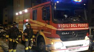 vigili del fuoco incendio piombino donna carbonizzata