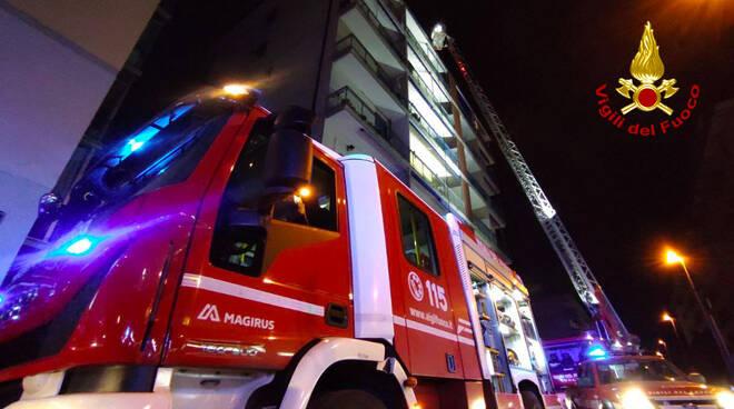 vigili del fuoco scandicci