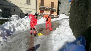 Volontari Anpas emergenza neve