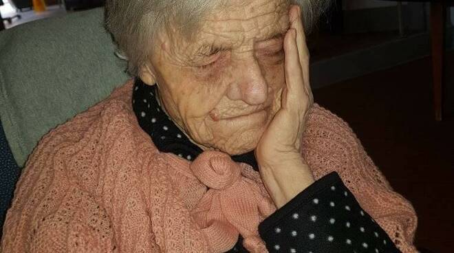 100 anni Evangelina Taddei